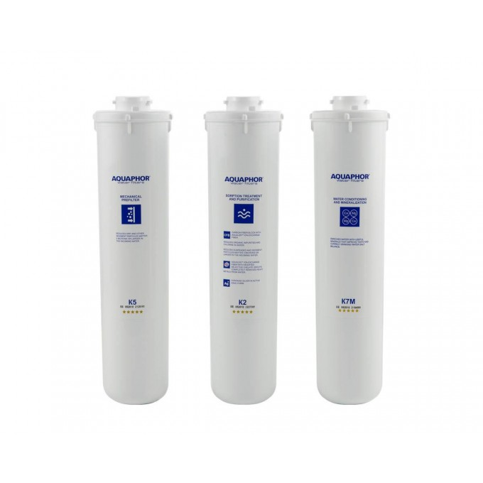 Sada filtračních vložek Aquaphor Morion K5-K7B-K7B