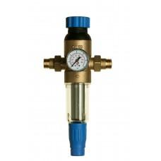 Sítkový filtr MWF Simple s redukčním a odkalovacím ventilem