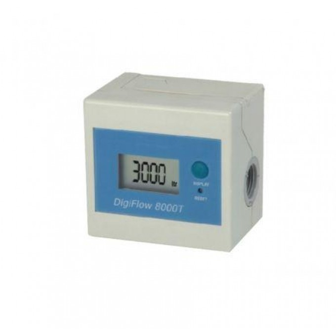 Digiflow 8000T počítadlo kapacity litrů a času