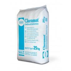 Tabletová sůl Claramat regenerační 25 kg 99,8% čistota