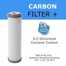 Ionicore uhlíková bakteriostatická filtrační vložka 2,5