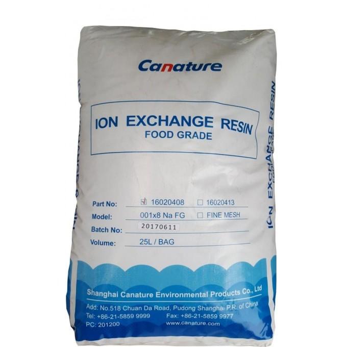 Silně kyselý Katex Canature ION EXCHANGE RESIN potravinářský filtrační náplň na změkčení vody