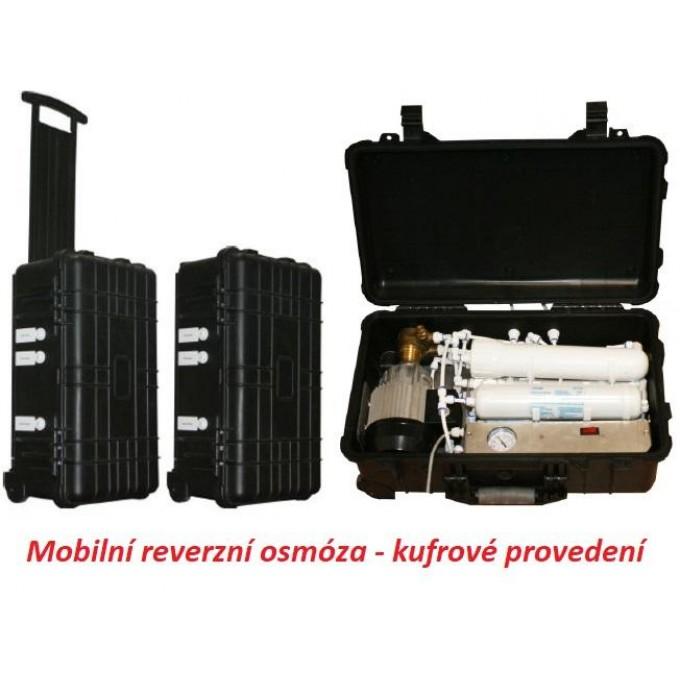 Mobilní reverzní osmóza v kufrovém provedení BlueClear RO-60-DF-B