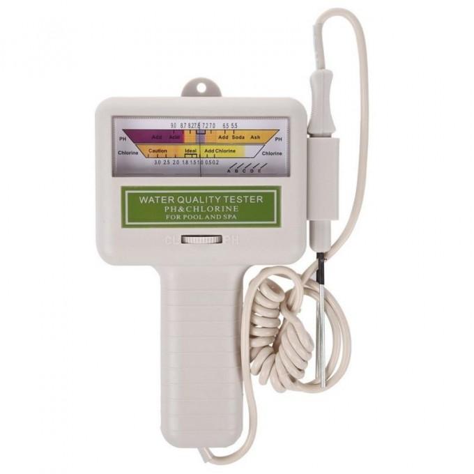 pH metr a měřič hladiny chlóru v bazénu